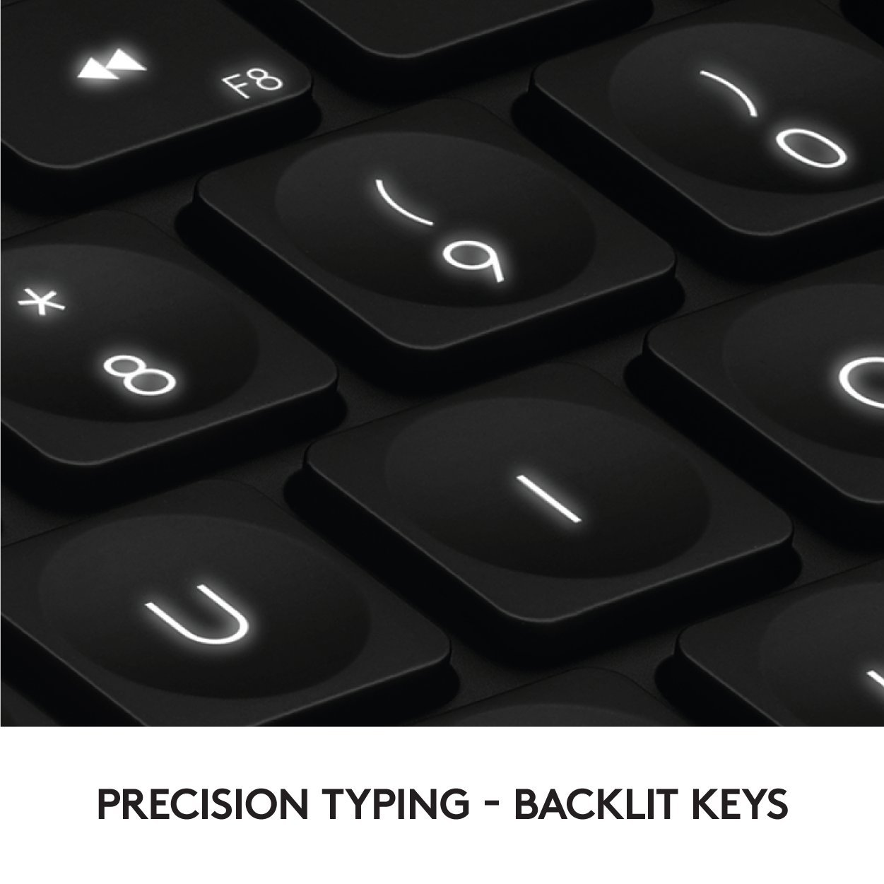 Logitech Craft Advanced Wireless Keyboard with Creative Input Dial and Backlit Keys, Dark grey and aluminum by Logitech (Image #6)