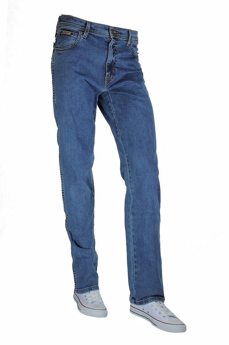 Wrangler Mens Original Texas Straight Leg Jeans