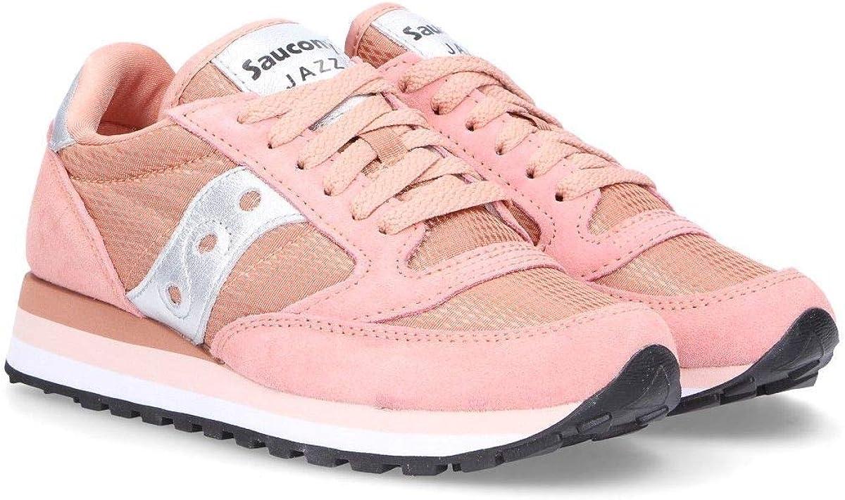 Saucony Sneakers Donna 6044901 Camoscio Rosa: Amazon.it