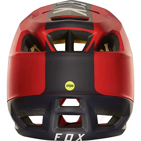 Fox Enduro - Casco para bicicleta de montaña proframe Libra - Rojo/Negro, rojo: Amazon.es: Deportes y aire libre