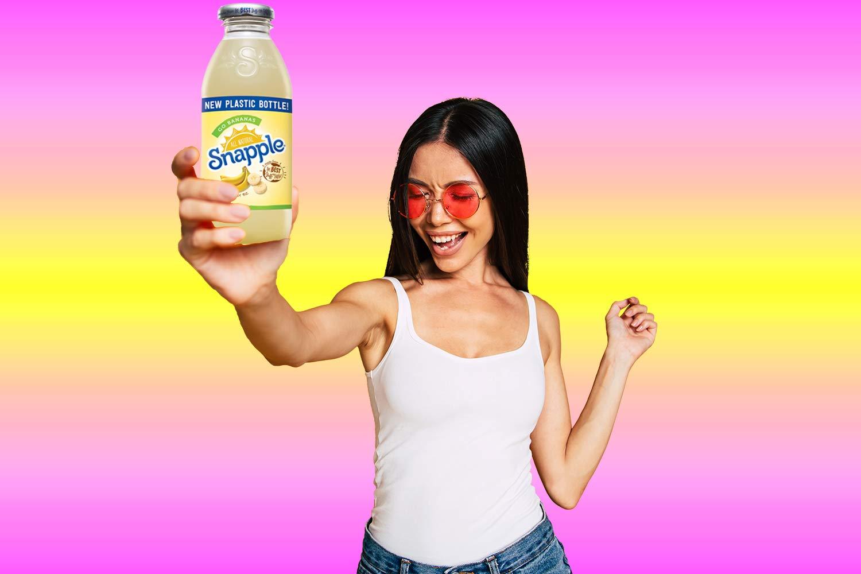 Snapple - Go Bananas - 16 fl oz (24 Plastic Bottles) by Snapple (Image #2)