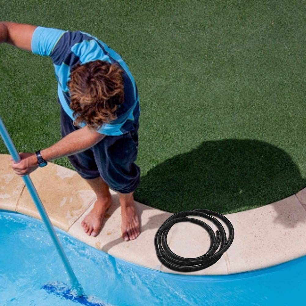 mementoy Swimming Pool Hose Spiral Hose 32mm X 6.3m For Swimming Pool Pumps And Filtration Systems