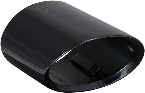 L P A301 Auspuffblende Endrohrblende Edelstahl Schwarz Spiegel Poliert Chrom Kompatibel Mit 1er E81 E82 E87 E88 Lci X1 E84 Plug Play Ersatzteil Endrohrblenden Schwarzchrom Auspuff Endrohr Blende Auto