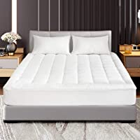 Abakan Mattress Protector 100% Waterproof Super Soft Breathable Noiseless Premium Fitted Mattress Pad Cover Luxury Elastic Deep Pocket Vinyl Free Bed Cover
