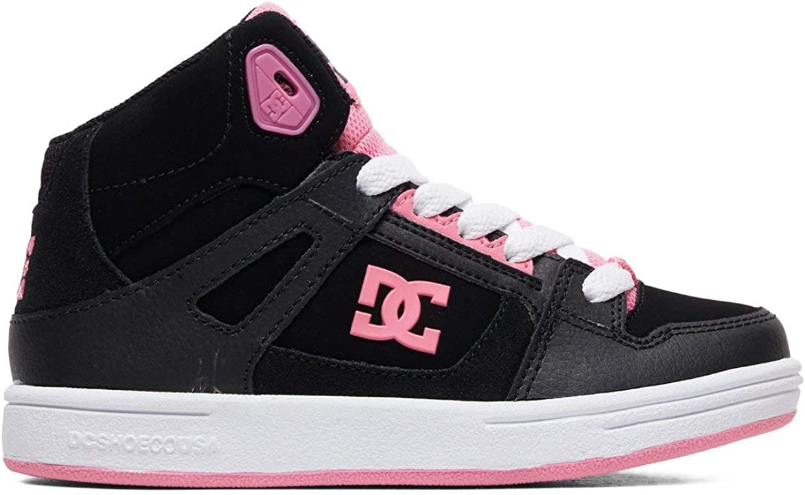 DC Girls' Pure High-Top Skate Shoe