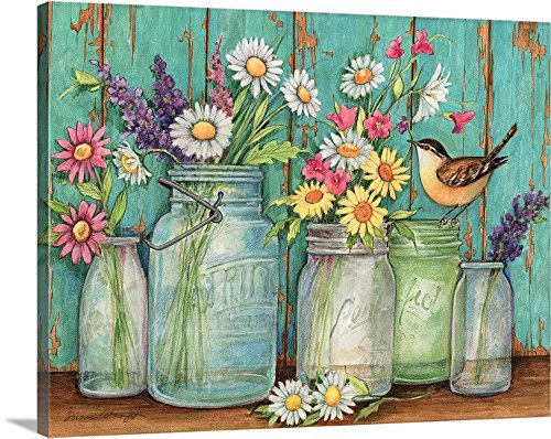Susan Winget mason jar wall art decoratons