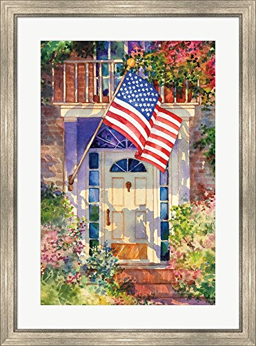 Great Art Now Patriotic Home by Kathleen Parr McKenna