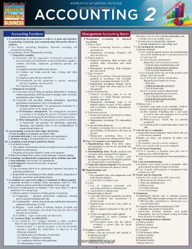 accounting cheat sheet - 4
