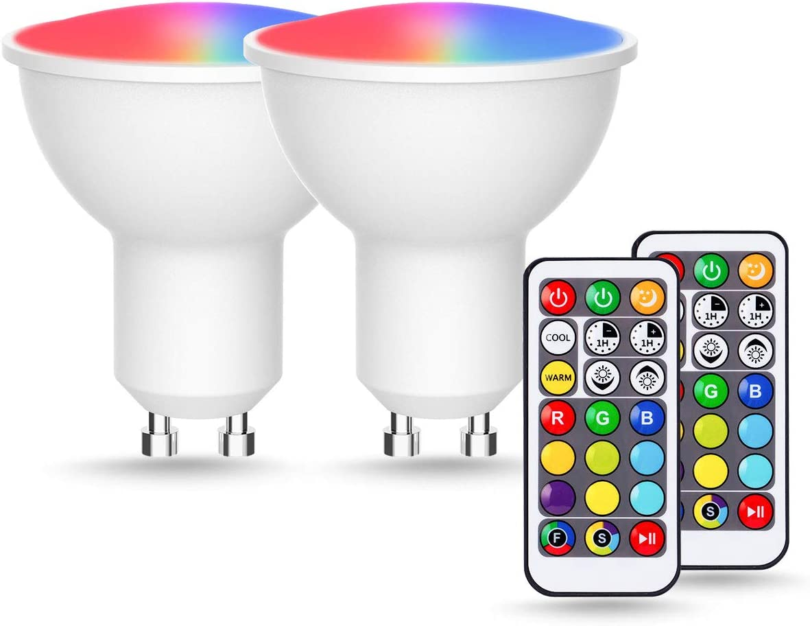 GU10 Colour Changing Bulbs