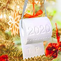 Pandemic Christmas Ornament 2020 Toilet Paper Crisis Ornament Christmas Decorations Christmas Tree Hanging Decorations…