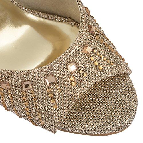 bronce Zapatillas Negro mujer Footwear Sensation claro PSqTx7I