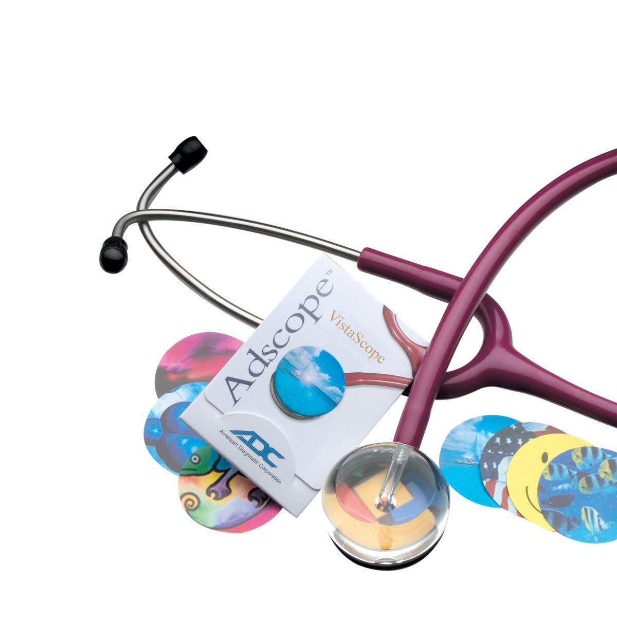 American Diagnostic 3001717 Adscope 655 Burgundy