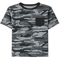 The Children's Place Boys' Crew Neck Camo T-Shirt