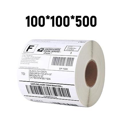 Amazon com: Labels Label Paper Thermal Labels Compatible