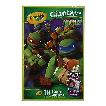 Amazon crayola kids teenage mutant ninja turtles tmnt giant crayola kids teenage mutant ninja turtles tmnt giantcoloring book voltagebd Gallery