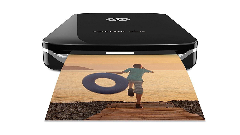 HP Sprocket Plus Stampante Fotografica Istantanea Portatile, Bianco (foto 5,8 x 8,6 cm) 2FR85A