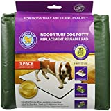 Pooch Pads Indoor Turf Replacement Pad Dog Potty (3 Pack), Medium/18″ x 28″