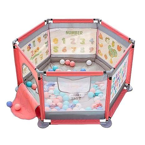 Patio de juegos para bebés portátil con colchoneta de ...