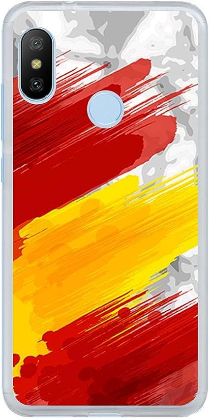 BJJ SHOP Funda Transparente para [ Xiaomi Mi A2 Lite/Redmi 6 Pro ...