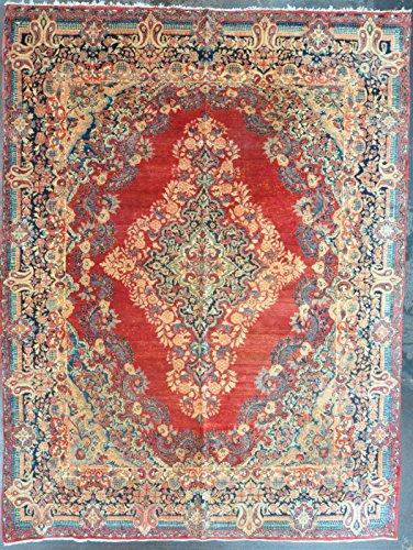 9x11.8 persian sarouk #63428 - Amir Rugs