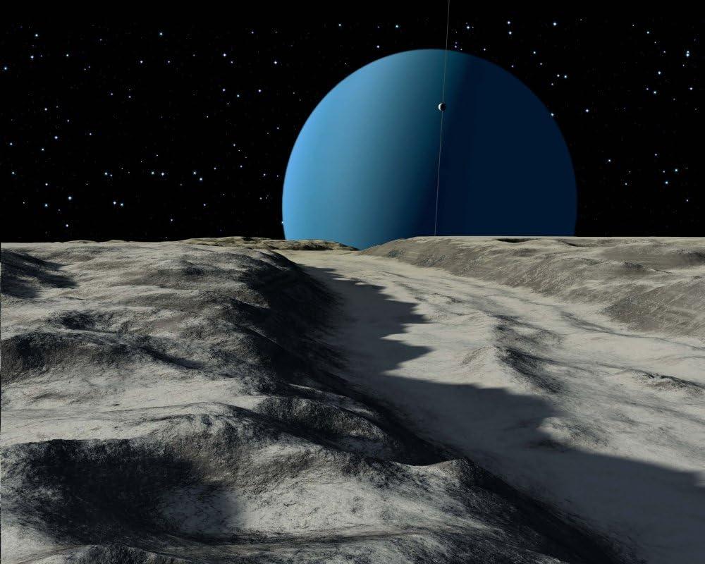 Ron Miller/Stocktrek Images – Uranus seen from the surface of ...