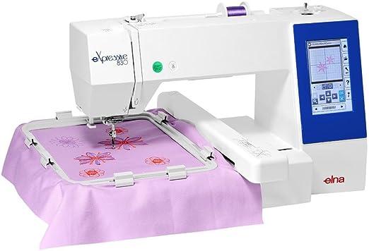 Elna 830eX Máquina de bordar: Amazon.es: Hogar