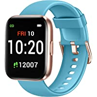 Letsfit IW1 Smart Watch for Android Phones Compatible with iPhone, 1.4 Inch Touch Screen Smartwatch with Blood Oxygen…