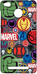 Macmerise Marvel Iconic Mashup Sublime Case For Xiaomi Redmi 3S Prime