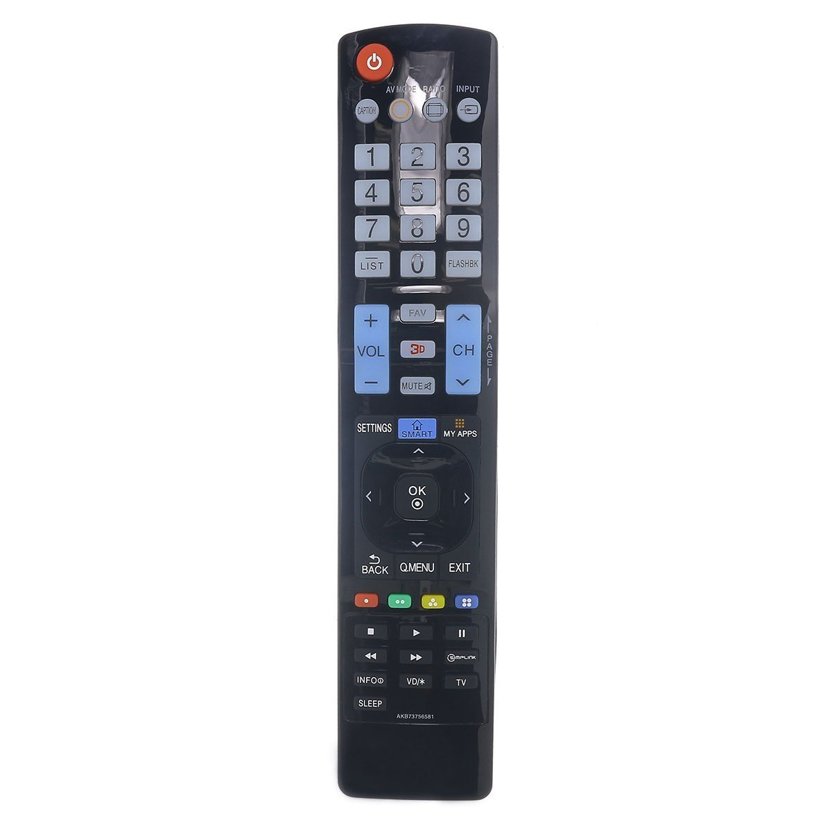 Mando a Distancia Universal para LG TV AKB73756581: Amazon.es: Electrónica