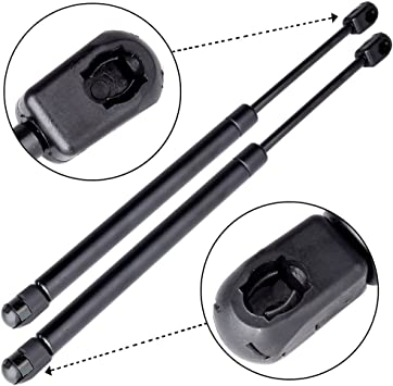 2 Pcs Front Hood Lift Supports Shocks Struts Springs For Acura TL 2006-2008