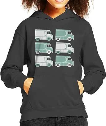 Citroën Retro Type H Van Art Kid's Hooded Sweatshirt