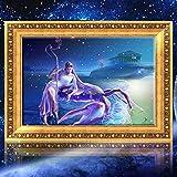 Bazaar 30x40cm 5D DIY Cancer Diamond Painting Resin Full Rhinestone Twelve Constellations Cross-stitch Kit