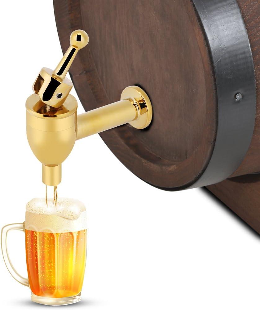 12mm-Chrome Zhoul cuivre robinet robinet maison h/ôtel cuisine accessoire outil pour vin bi/ère baril boisson boisson distributeur robinet de remplacement