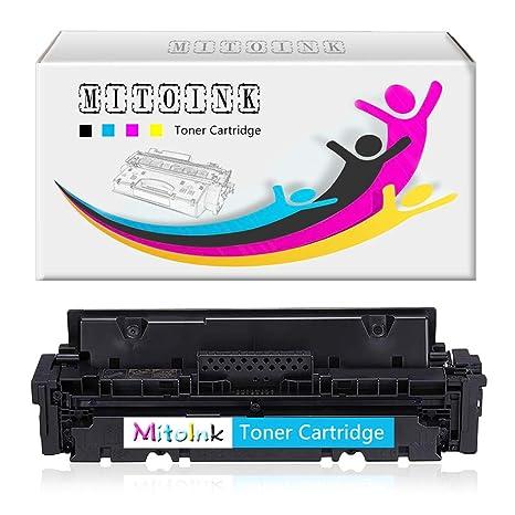 Amazon.com: MitoInk - Cartucho de tóner cian para impresora ...