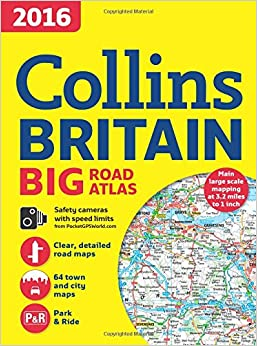 Book 2016 Collins Big Road Atlas Britain