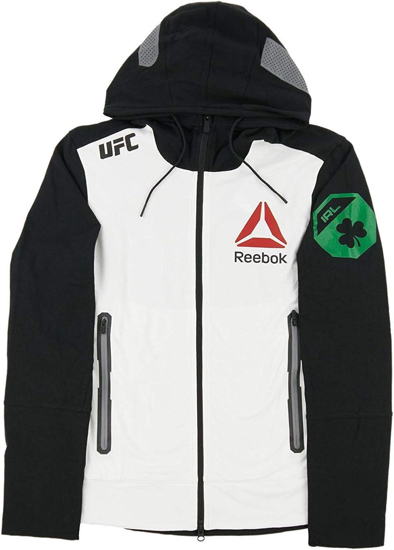 Reebok Men's UFC Walkout Hoodie BlackChalk AO3495 (L