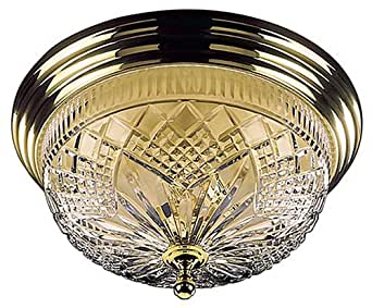 Waterford Crystal 17-Inch Beaumont Ceiling Fixture
