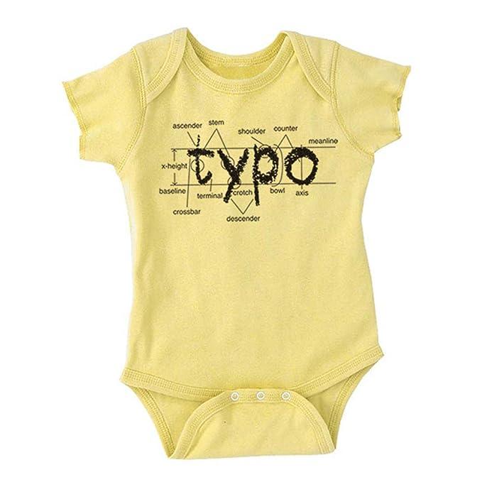 Amazon com: I Heart Analogue Children's Typography Baby Onesie Black