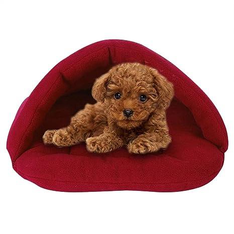 Yihya® Alta Calidad Cálido Mascotas Sacos de Dormir Waterloo de Mascotas Gato Nido Camas de