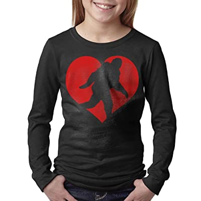 08&FD0 Love Squatchin Unisex-Child Long Sleeve Tshirts