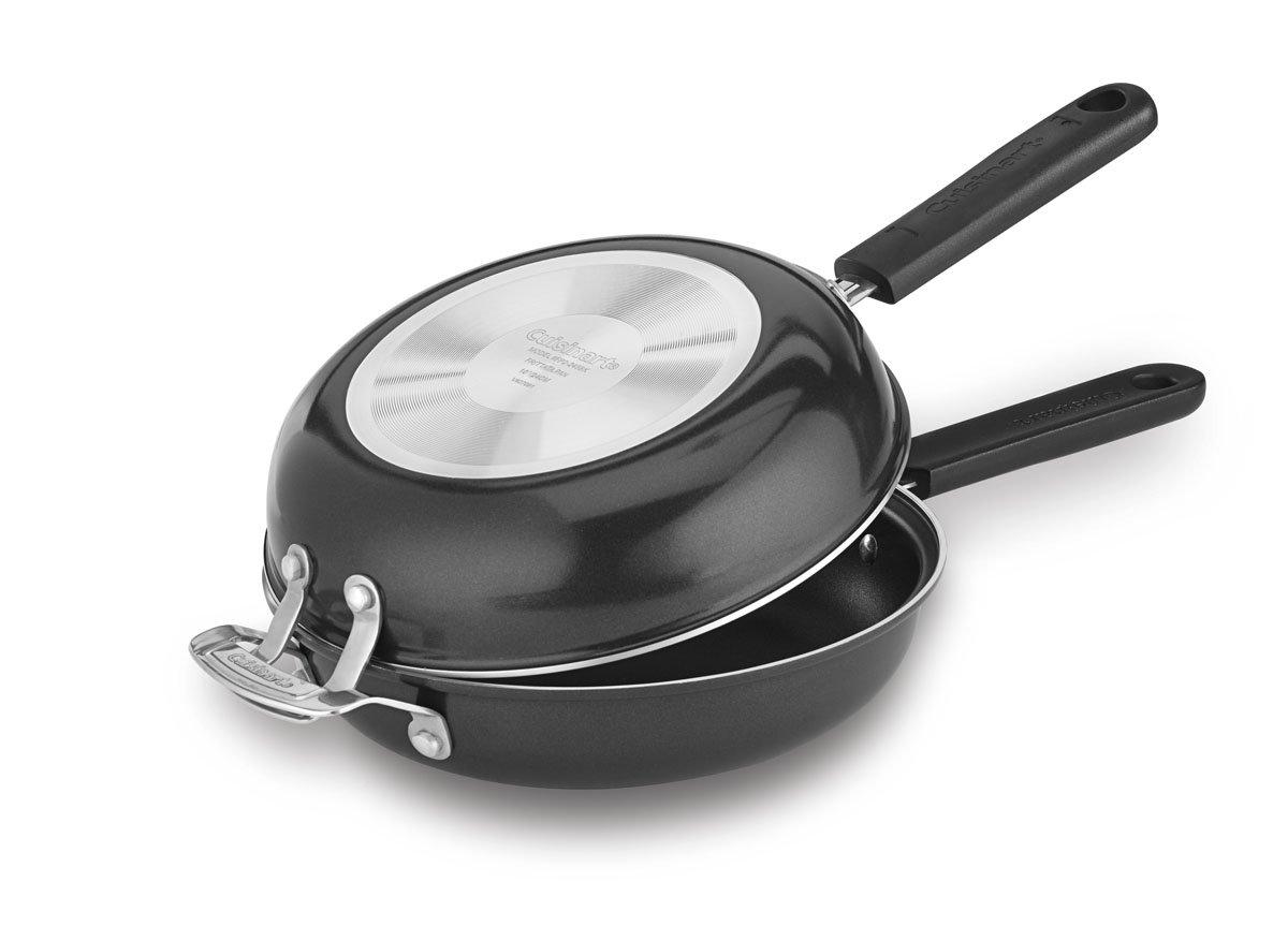 Cuisinart FP2-24BK Frittata 10-Inch Nonstick Pan Set