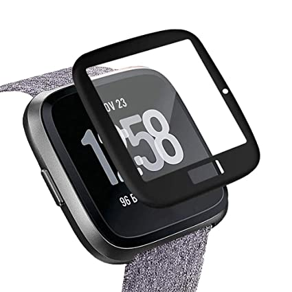 Amazon.com: Huangou Case for Fitbit Versa, Plated Screen ...
