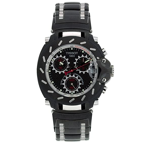 Tissot T-Race T0114172220100 - Reloj de caballero de cuarzo, correa de acero inoxidable color: Tissot: Amazon.es: Relojes