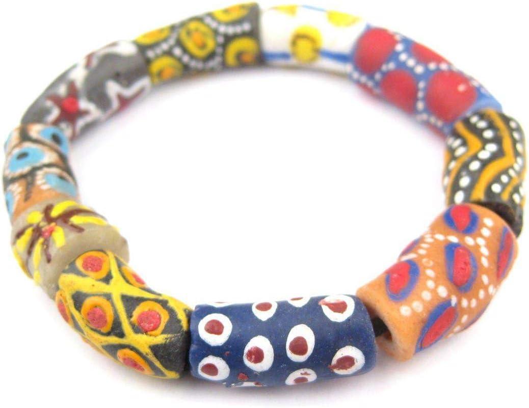Bone and Glass Bracelet *Tribal Bracelet*Men/'s Boho Bracelet