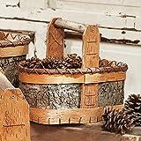 Black Forest Decor Authentic Birch Basket - Small
