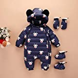 TrimakeShop Infant Baby Girls Boys Hooded Puffer