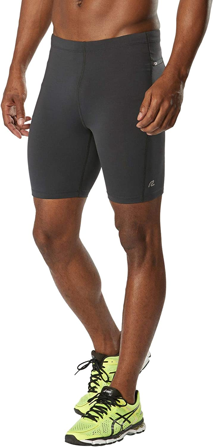 R-Gear Men's 7-Inch Compression Shorts with Pocket for Running, Workout, Gym | Recharge