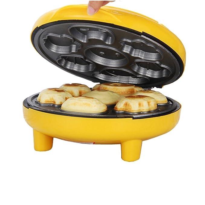 nadalan Babycakes automático Cake Máquina desayuno se puede lavar a máquina de pan pastelería para niños: Amazon.es: Hogar