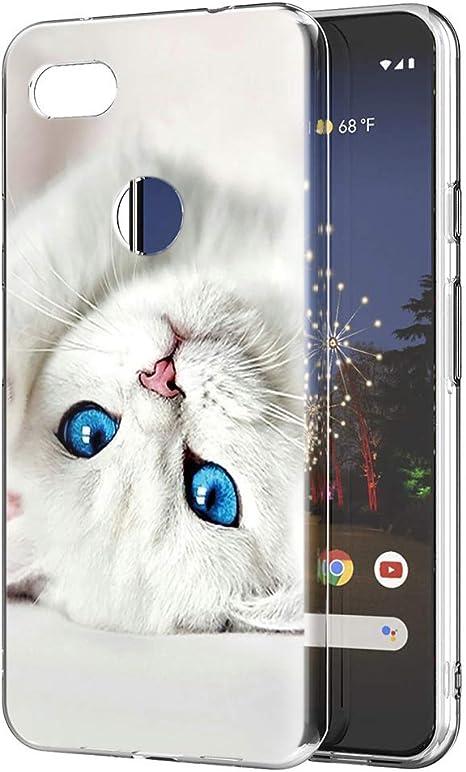 Zhuofan Coque Google Pixel 3a Xl Etui En Silicone 3d