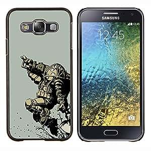 """Be-Star Único Patrón Plástico Duro Fundas Cover Cubre Hard Case Cover Para Samsung Galaxy E5 / SM-E500 ( Bi0Shock Big Daddy - Gaming"""" )"""
